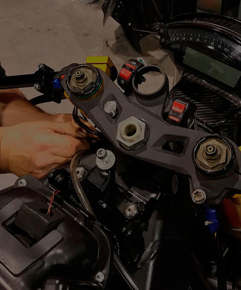 Delerue l'expérience moto entretien