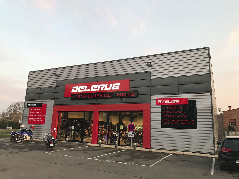 Delerue l'expérience moto magasin