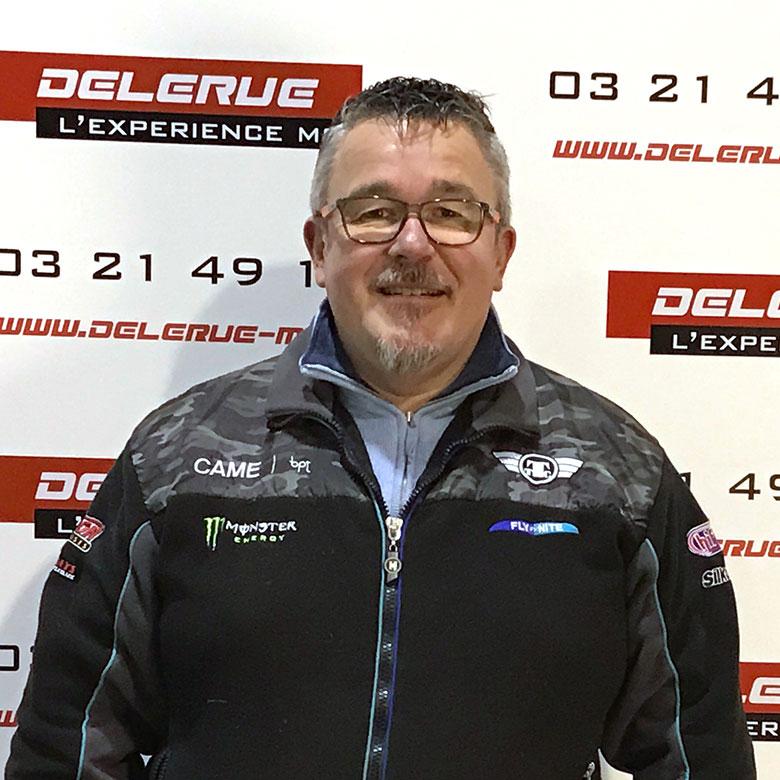 Bertrand Gerant Delerue l'expérience moto