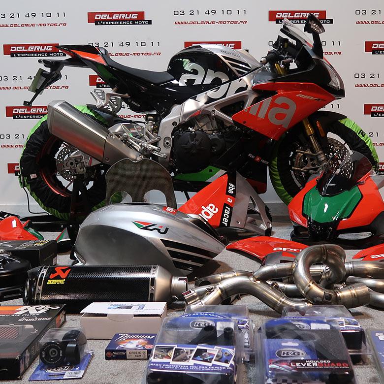 Delerue l'expérience moto preparation piste