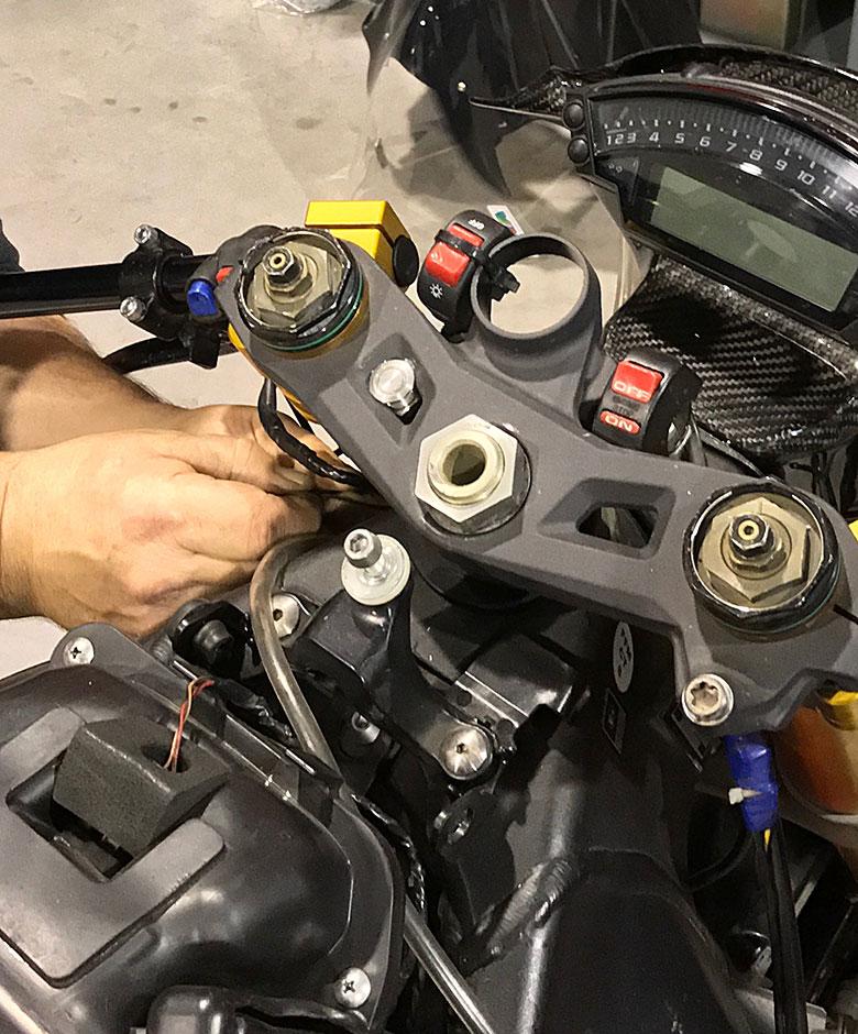Delerue moto préparation entretien réparation
