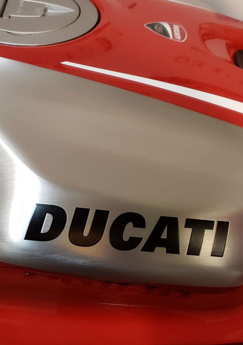 Delerue l'expérience moto Ducati